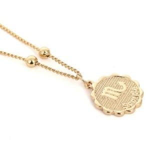 Horoscope Scorpio Coin Necklace